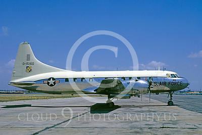 T-29USAF 00001 Convair T-29C Samaritan USAF 15160 LAX April 1964 by Bud Donato