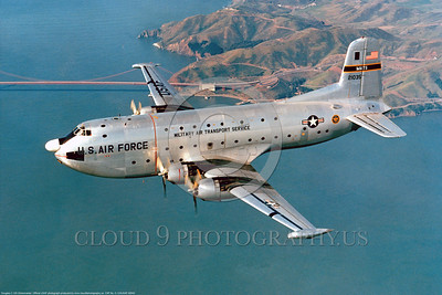 C-124USAF 00002 Douglas C-124 Globemaster II USAF 21035 Military Air Transport Service Official USAF Photograph produced by Peter J Mancus DONEwt