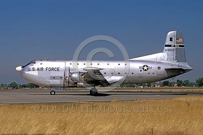 C-124USAF 00001 Douglas C-124 Globemaster II USAF Reserves 10103 McClellan AFB 27 August 1971 by Peter J Mancus DONEwt