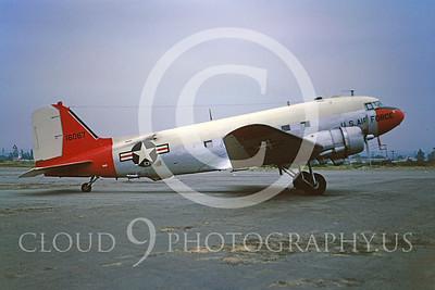 C-47USAF 00003 Douglas Skytrain USAF 16087 May 1965 by Peter B Lewis