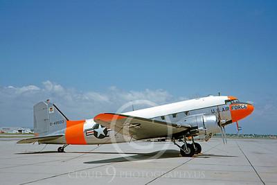 DG 00121 Douglas C-47 Skytrain USAF 49503 June 1963 by Clay Jansson