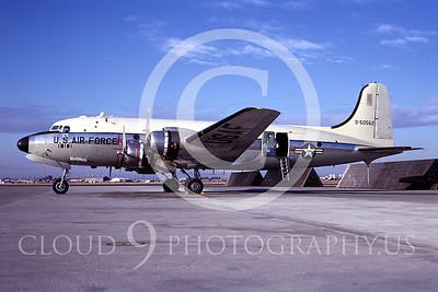 C-54USAF 00001 Douglas C-54 Skymaster USAF 50562 November 1967 by Peter B Lewis