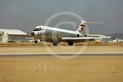 C-9USAF 00001 Douglas C-9B Nightingale USAF 88932 NAS Miramar by Peter J Mancus