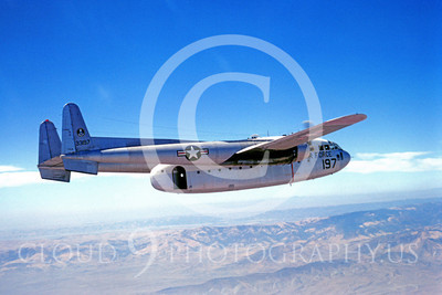 C-119USAF 00002 Fairchild C-119 Flying Boxcar USAF 33197 September 1969 by Clay Jansson