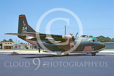 C-123USAF 00013 Fairchild C-123K Provider USAF 54695 Hurlburt Field AH 16 August 1972 by Frank MacSorley