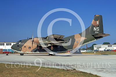 C-123USAF 00017 Fairchild C-123K Provider USAF Reserve 54294 Hurlburt Field NS 16 August 1972 by Frank MacSorley