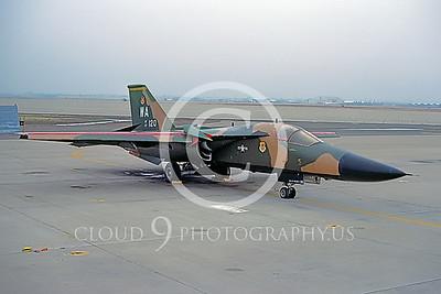 F-111USAF 00003 General Dynamics F-111 Aardvark #67120 McClellan 1980 by Peter J Mancus