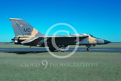 F-111USAF 00001 General Dynamics F-111A Aardvark #67051 via AASS