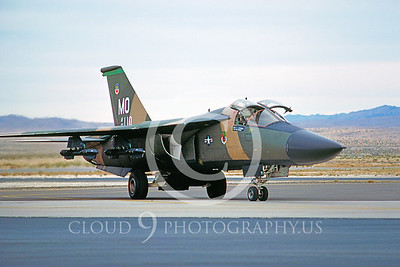F-111USAF 00005 General Dynamics F-111 Aardvark Nellis AFB 1982 by Peter J Mancus