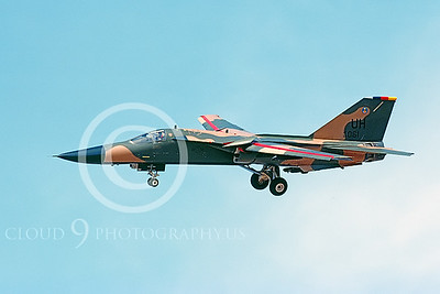 F-111USAF 00034 General Dynamics F-111 Aardvark #68061 1992 by Peter J Mancus