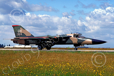 F-111USAF 00015 General Dynamics F-111 USAF 68016 Aug 1979 by MarinusTabak