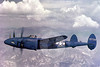 USAF Lockeed P-38 Lightning Military Airplane Pictures : Real WWII color Lockheed P-38 Lightning figher airplane pictures for sale.