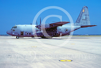 AC-130USAF 00003 Lockheed AC-130 Hercules USAF Reserves 50111 October 1978 Tyndall AFB by Peter J Mancus