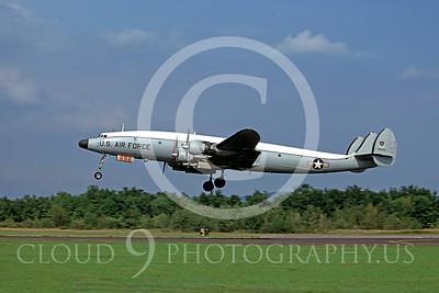 C-121USAF 00002 Lockheed C-121 Constellation USAF 44052 September 1978 by Ron McNeil