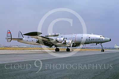 C-121USAF 00003 Lockheed NC-121 Constellation USAF 66958 April 1964 by Bud Donato