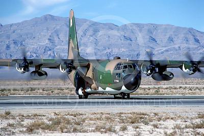 C-130USAF 00005 Lockheed C-130 Hercules USAF November 1980 Nellis AFB by Peter J Mancus