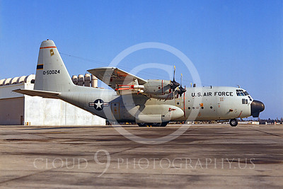 C-130USAF 00017 Lockheed C-130 Hercules USAF 50024 with missile NAS North Island by Peter J Mancus