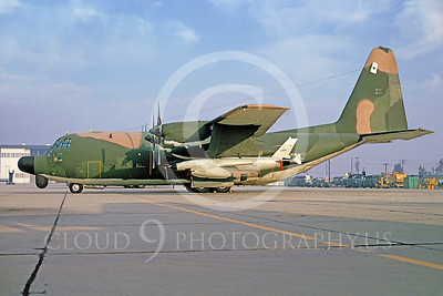 C-130USAF 00019 Lockheed DC-130 Hercules USAF with drone March AFB December 1974 by Peter J Mancus