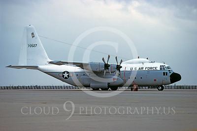 C-130USAF 00007 Lockheed HC-130P Hercules USAF 70527 April 1982 Hickam AFB by Peter J Mancus
