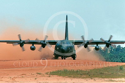 C-130USAF 00023 Lockheed C-130 Hercules USAF July 1990 by Peter B Lewis
