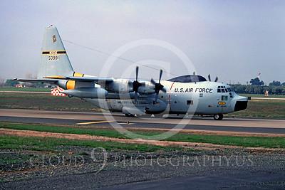 C-130USAF 00013 Lockheed HC-130P Hercules USAF 50991 41st ARRS McClellan AFB 13 March 1979 by Peter B Lewis