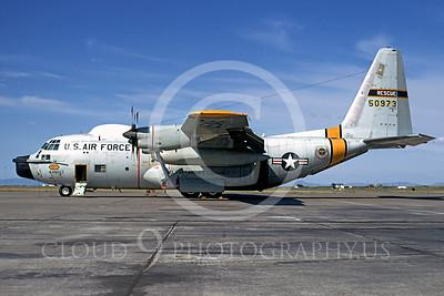 C-130USAF 00015 Lockheed HC-130P Hercules USAF 50973 May 1971 Hamilton AFB by Peter J Mancus