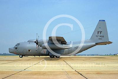 C-130USAF 00035 Lockheed HC-130P Hercules USAF 64863 71st RQS FF 25 May 1994 by Brian C Rogers via African Aviation Slide Service