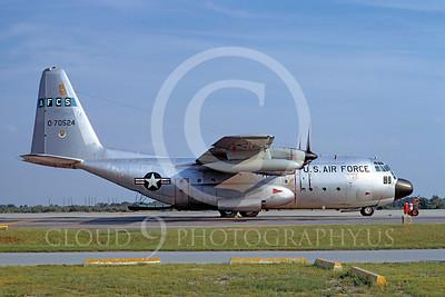 C-130USAF 00033 Lockheed C-130 Hercules USAF 70524 AFCS McGuire AFB 6 September 1973 by Frank MacSorley