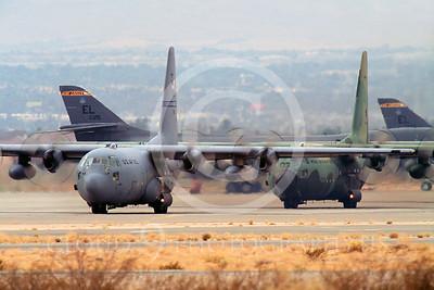 C-130USAF 00009 Lockheed C-130 Hercules USAF Nellis AFB by Peter J Mancus