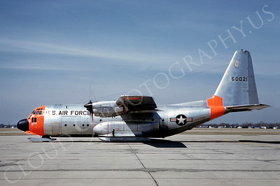 DG 00041 Lockheed NC-130A Hercules with skis USAF 50021 April 1962 by Eugene M Sommerich