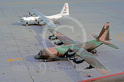 C-130USAF 00029 Lockheed C-130 Hercules USAF MCAS Yuma May 1984 by Peter J Mancus