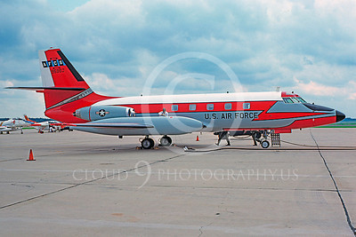 C-140USAF 00009 Lockheed C-140 JetStar USAF 95960 AFCS McGuire AFB 19 July 1975 by Jim Tunney