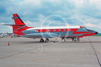 C-140USAF 00009 Lockheed C-140 JetStar USAF 95960 AFCS McGuire AFB 19 July 1975 by Jim Tunney