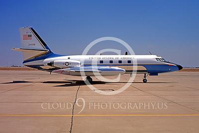 VC-140USAF 00005 Lockheed VC-140 JetStar USAF Aug 1974 by Peter B Lewis