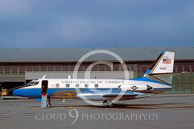VC-140USAF 00007 Lockheed VC-140 JetStar USAF 21 Oct 1979 by Peter J Mancus