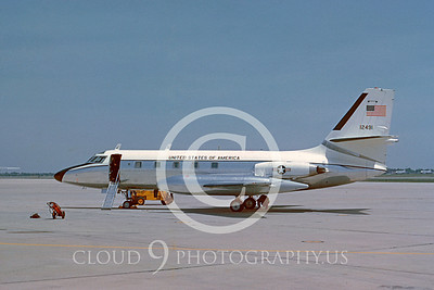 VC-140USAF 00001 Lockheed VC-140 JetStar USAF 17 May 1967 Andrews AFB by Clay Jansson