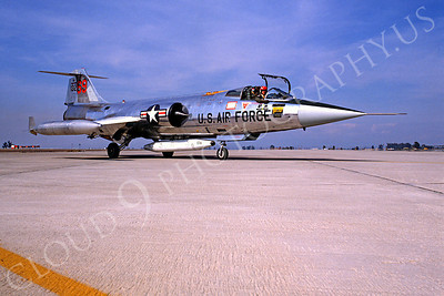 F-104USAF 00007 Lockheed F-104 Starfighter USAF 13269 Luke AFB Fightingn 69th Squadron by Peter J Mancus