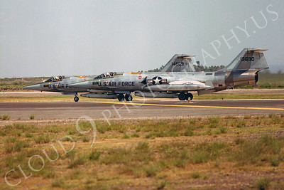 F-104USAF 00031 Lockheed F-104 Starfighter USAF 13690 Luke AFB by Peter J Mancus