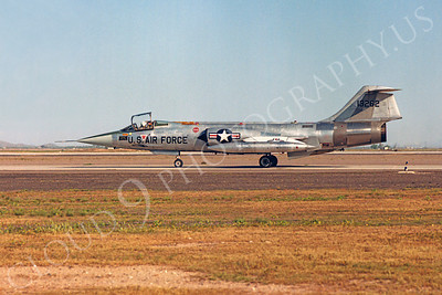 F-104USAF 00011 Lockheed F-104 Starfighter USAF 13262 Luke AFB by Peter J Mancus