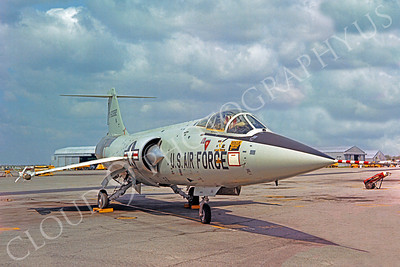 F-104USAF 00025 Lockheed F-104 Starfighter USAF by Peter J Mancus