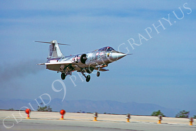 F-104USAF 00022 Lockheed F-104 Starfighter USAF 13238 MCAS Yuma by Peter J Mancus