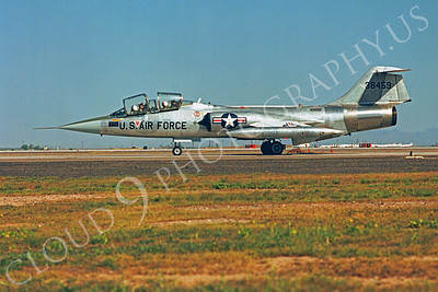 F-104USAF 00017 Lockheed F-104 Starfighter USAF 38459 Luke AFB by Peter J Mancus