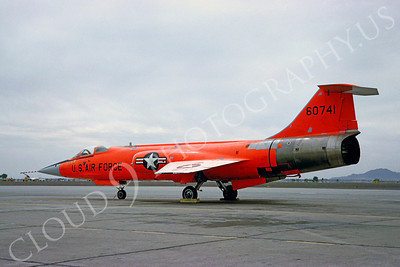 DG 00009 Lockheed QF-104 Starfighter USAF 60741 May 1966 by Clay Jansson