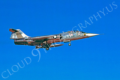 F-104USAF 00034 Lockheed F-104 Starfighter USAF 38461 31 July 1978 by Carl E Porter