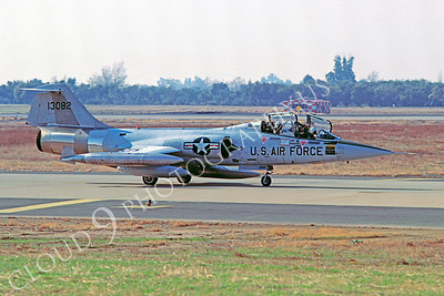 F-104USAF 00009 Lockheed F-104 Starfighter USAF 13082 McClellan AFB 3 December 1978 by Carl E Porter