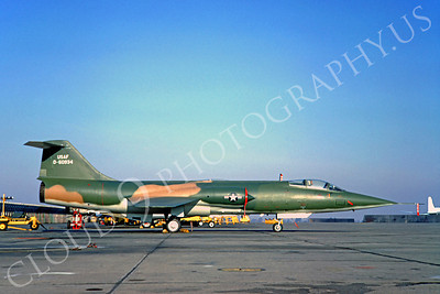 F-104USAF 00037 Lockheed F-104 Starfighter USAF 60934 by Clay Jansson