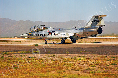F-104USAF 00015 Lockheed F-104 Starfighter USAF 38452 Luke AFB by Peter J Mancus