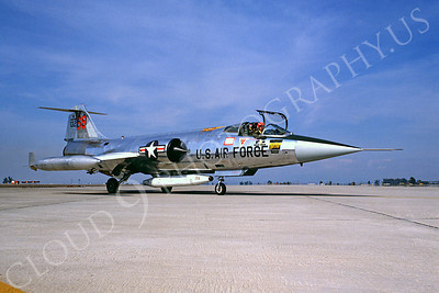 F-104USAF 00013 Lockheed F-104 Starfighter USAF 13269 Luke AFB Fightingn 69th Squadron by Peter J Mancus