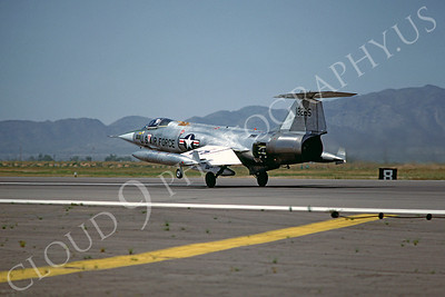 F-104USAF 00035 Lockheed F-104 Starfighter USAF 13265 Luke AFB November 1979 by Peter J Mancus