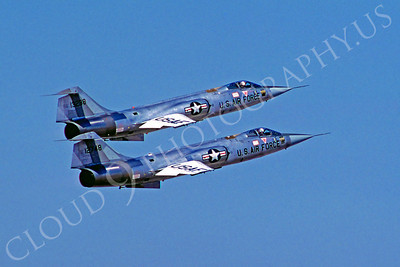 F-104USAF 00006 Lockheed F-104 Starfighter USAF 12748 by Peter J Mancus
